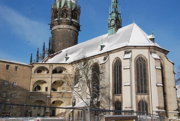 Sanierung Schlosskirche Wittenberg